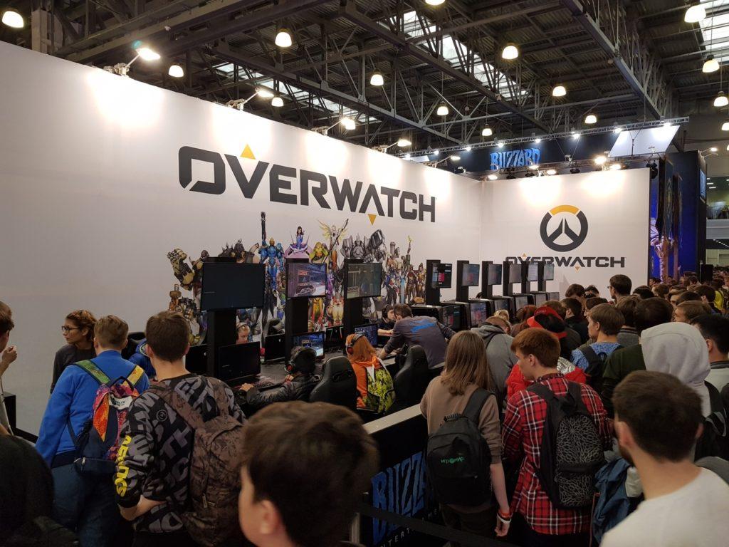 overwatch igromir 2018
