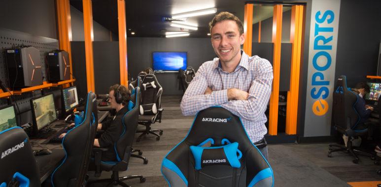 Дилан Пулус - QUT Tigers - первая австралийская университетская программа киберспорта