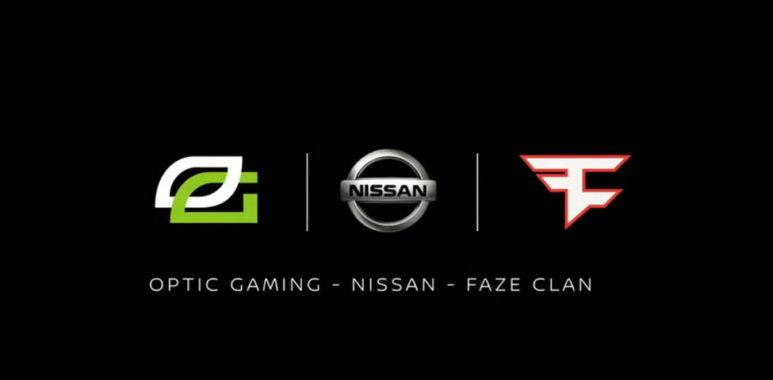 Nissan-OpTic-Gaming-FaZe-Clan