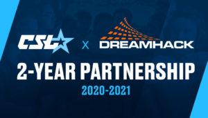 Collegiate-StarLeague-DreamHack-Partnership